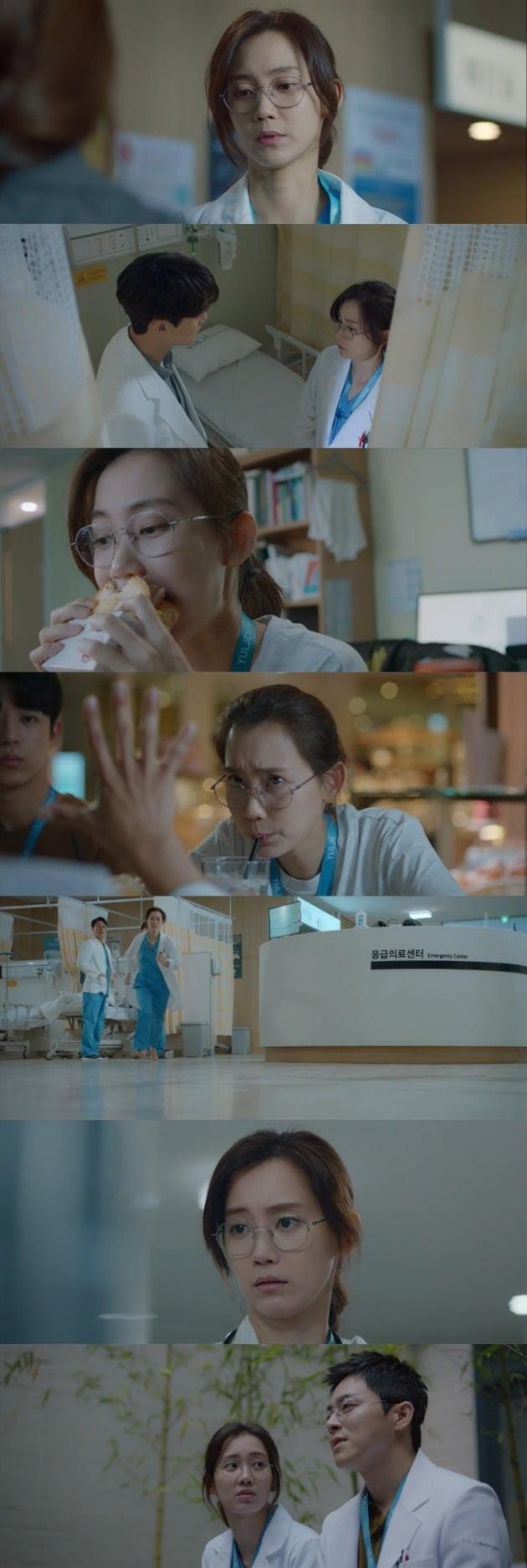 배우 신현빈이 '슬기로운 의사생활'에서 다채로운 매력을 선보이고 있다. / 사진=tvN 방송 캡처