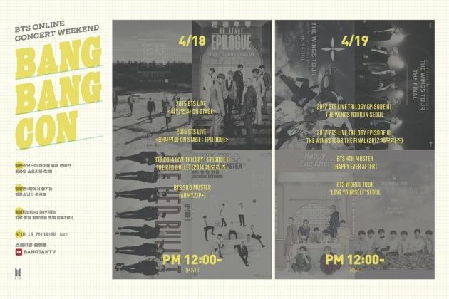 그룹 방탄소년단 방방콘 / 사진제공=빅히트엔터테인먼트