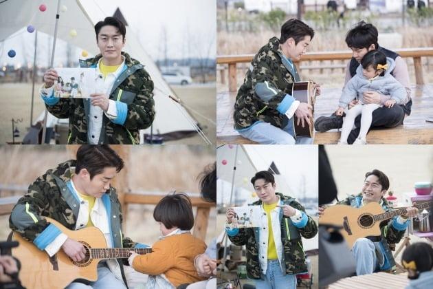 tvN 토일드라마 '하이바이, 마마!' 현장 비하인드 스틸컷. /사진제공=스노우볼 엔터테인먼트