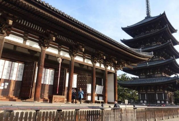 일본 나라현 고후쿠지의 오층탑(뒤)  /고후쿠지 홈페이지