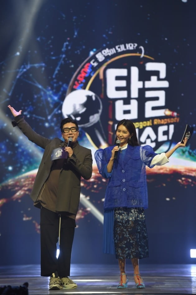 가수 겸 방송인 이상민(왼쪽), 채정안./ 사진제공=E채널