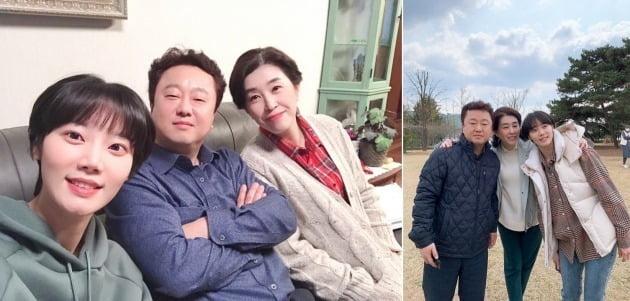 tvN 토일드라마 '하이바이, 마마!' 현장 비하인드컷. /사진제공=풍경엔터테인먼트