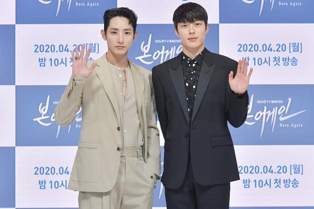 배우 이수혁(왼쪽)과 장기용/ 사진제공=KBS2