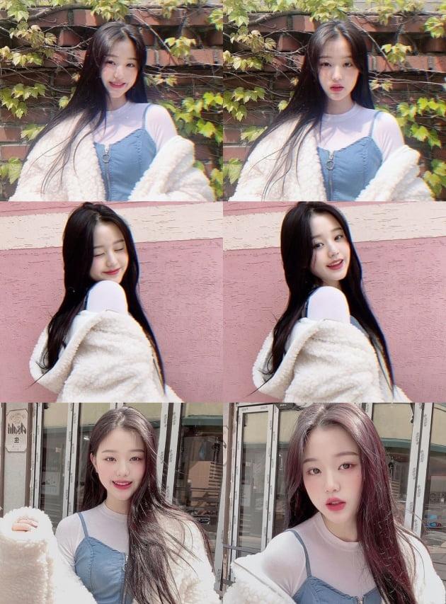 그룹 아이즈원의 장원영 / 사진=아이즈원 인스타그램