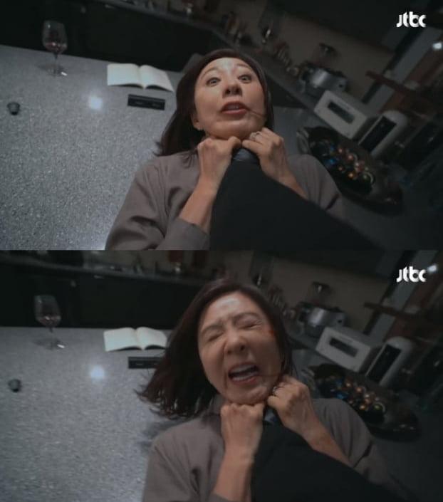 JTBC '부부의 세계' 한 장면./ 사진=방송화면 캡처