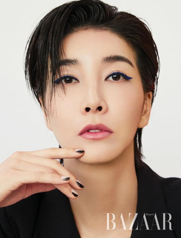 배우 진서연 뷰티 화보./ 사진제공= 하버스 바자