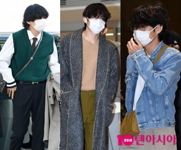 그룹 방탄소년단의 뷔 / 사진=텐아시아DB
