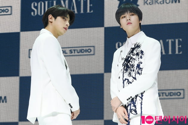 [TEN 포토] H&D 이한결-남도현 '안구정화 꽃주얼'