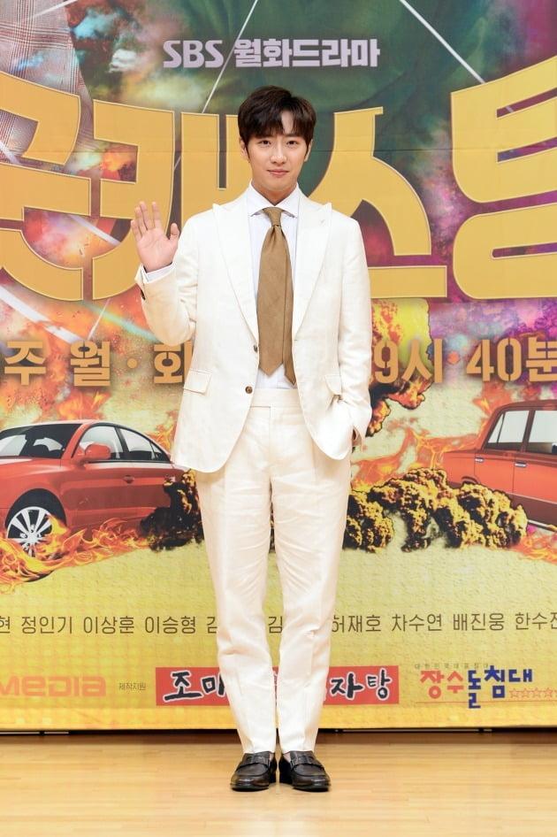 배우 이상엽이 22일 오전 온라인 생중계된 SBS 새 월화드라마 '굿캐스팅' 제작발표회에 참석했다. /사진제공=SBS
