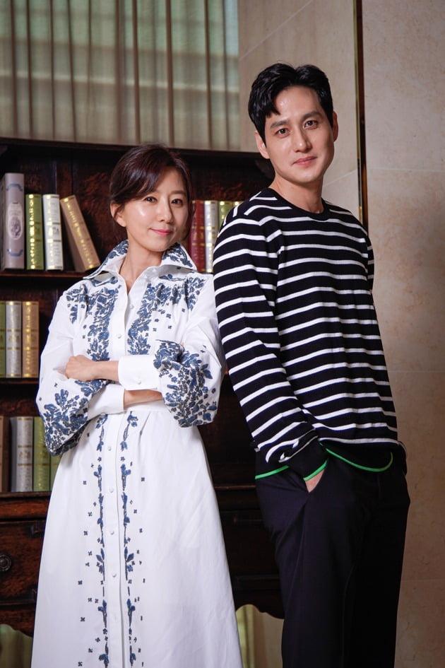 배우 김희애, 박해준./사진제공=JTBC