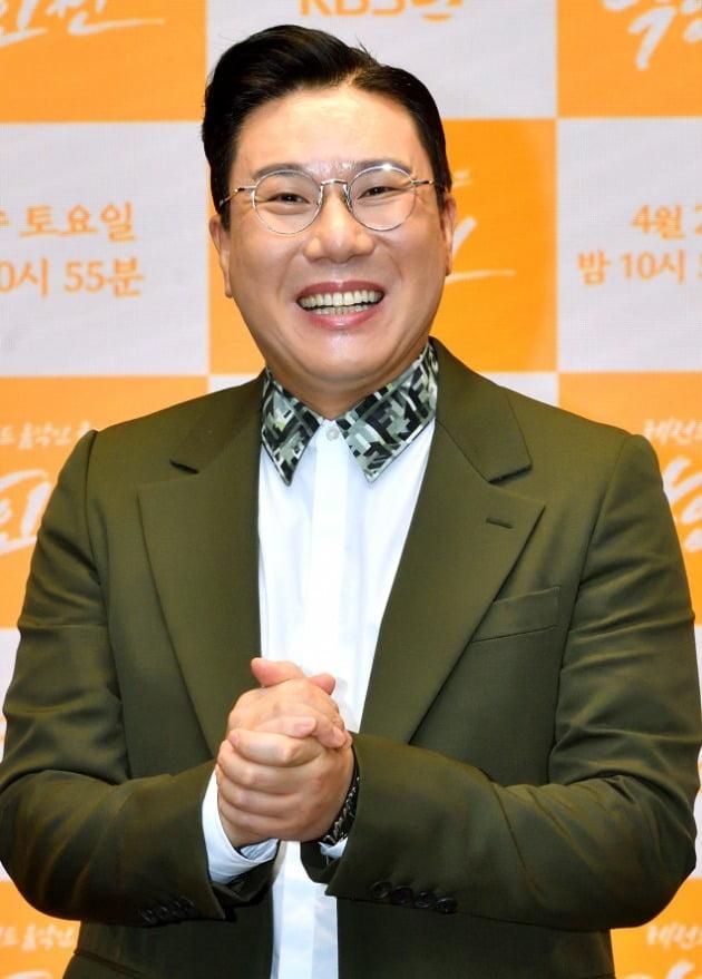 '악인전' 제작발표회에 참석한 이상민/ 사진=KBS2 제공