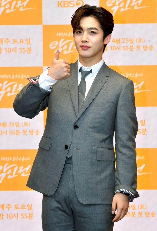 '악인전' 제작발표회에 참석한 김요한/ 사진=KBS2 제공