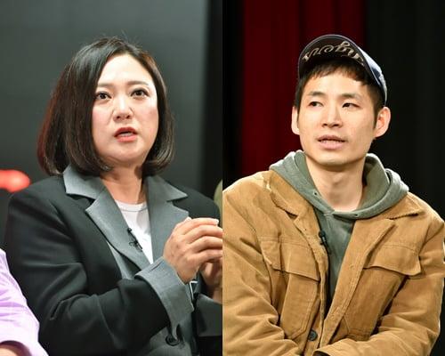개그맨 김숙(왼쪽), 박인석PD /사진=텐아시아DB