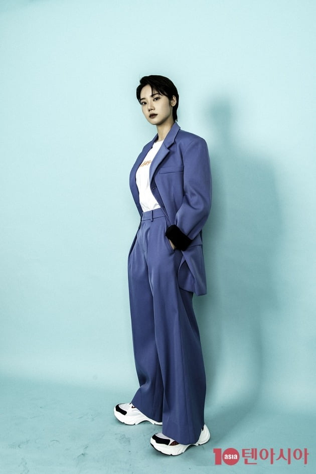 tvN 토일드라마 '하이바이, 마마!'에서 차유리(김태희 분)의 여동생 차연지 역으로 열연한 배우 김미수. /이승현 기자 lsh87@