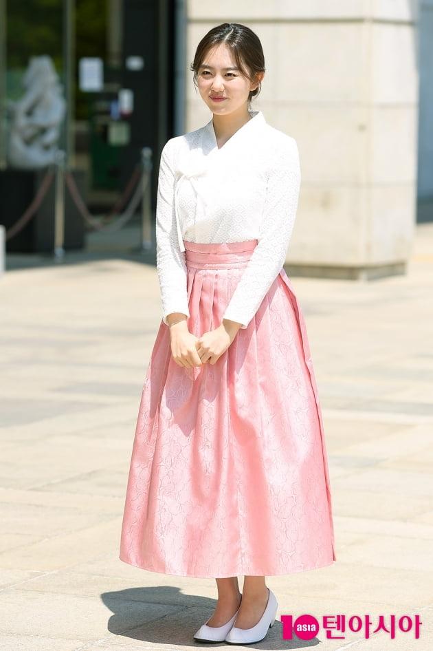 [TEN 포토] 김소혜 '단아하게 어울리는 한복'