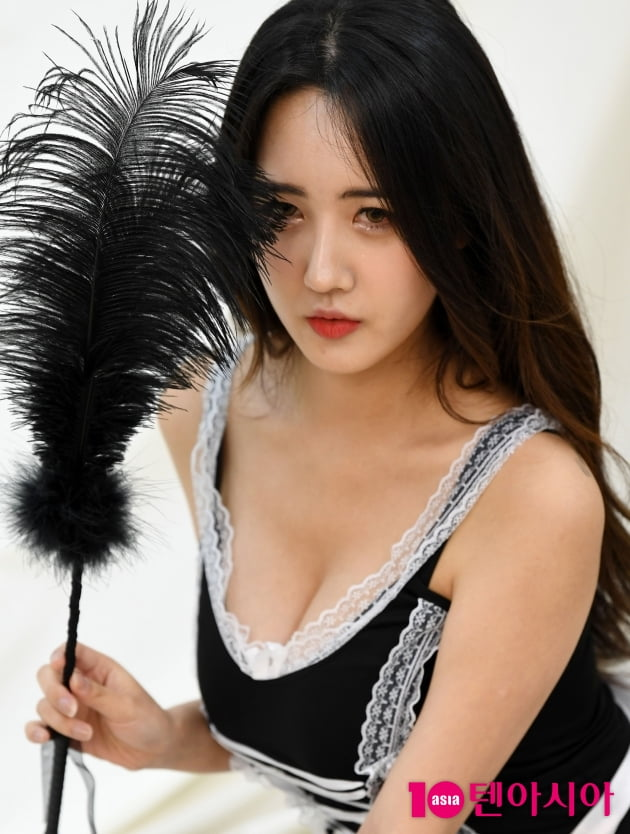 [TEN 포토] 윤주 '사랑스러운 눈빛'
