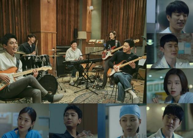 '슬기로운 의사생활' 등장인물/ 사진=tvN 제공