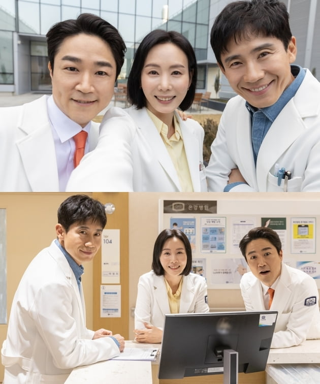 '영혼수선공' 정신과 의사 3인방/ 사진=KBS2 제공