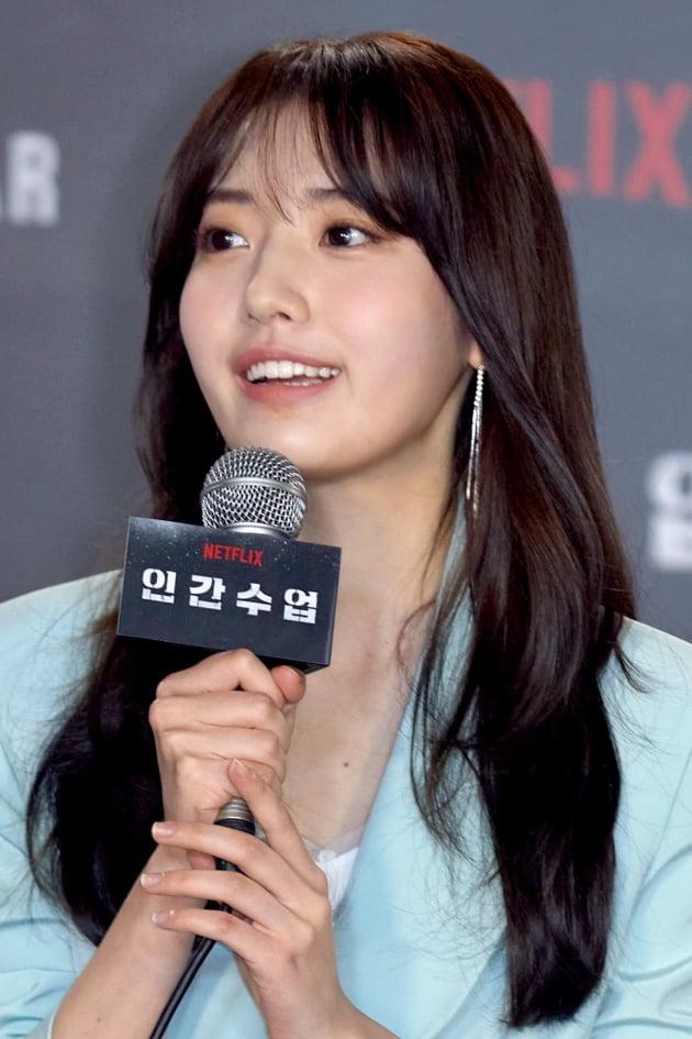 '인간수업'에서 배우 정다빈은 지수의 범죄에 휘말리는 일진 민희를 연기한다. /사진제공=넷플릭스