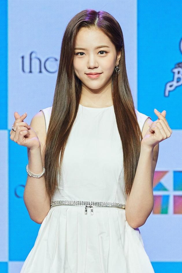 [TEN 포토] 컴백 공원소녀 레나 '너에게 홀릭'