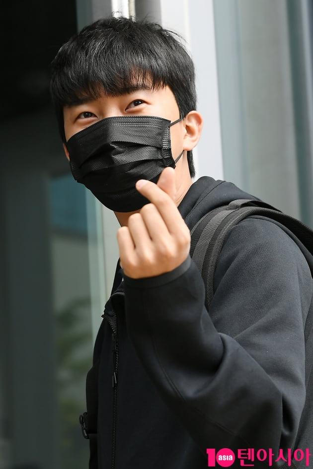 [TEN 포토] 미스터트롯 임영웅 '너 떄문에 심쿵'