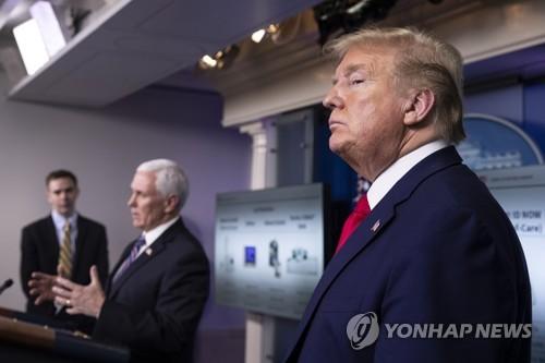 '한국사위' 美주지사, 트럼프에 재반격…한국진단키트 구매 공방