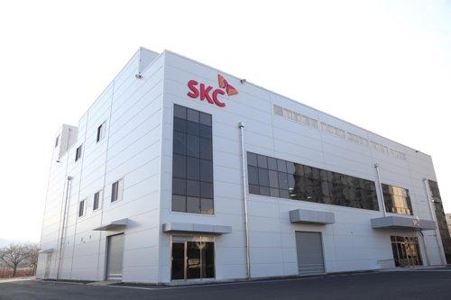 SKC '일본 의존도 90%' 반도체용 블랭크마스크 연내 양산