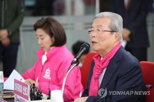 """[총선 D-9] 통합당, '조국 몰이' 총력…""""도덕적 파탄에 회초리 들어야"""""""