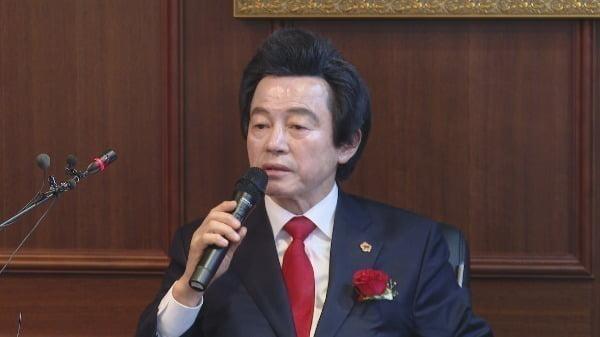 허경영 국가혁명배당금당 대표. 사진=연합뉴스