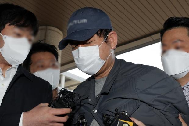 경찰 조사 받게된 김봉현 회장. 사진=연합뉴스