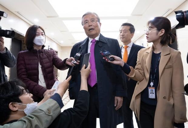 김종인 대한발전전략연구원 이사장. 사진=연합뉴스