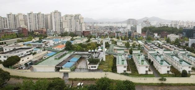 서울 가락동 옛 성동구치소 부지. 연합뉴스