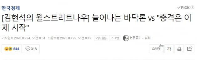 [김현석의 월스트리트나우] '월가가 가장 미워한 랠리'