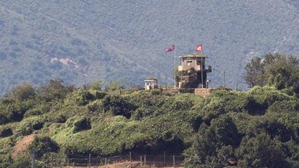 북한군이 비무장지대(DMZ)에서 우리 군 초소(GP)에 총격을 가했다. 사진=연합뉴스