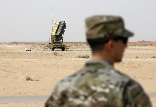 사우디에 배치돼 있는 미 패트리엇미사일 포대/ AP연합뉴스