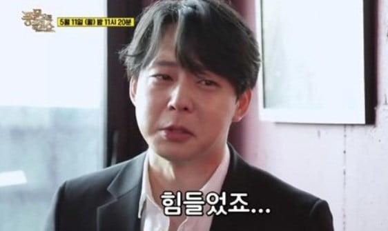 """'풍문쇼' 박유천 """"성폭행 비난에 자포자기…또 그런 일 겪을까봐"""" 눈물"""
