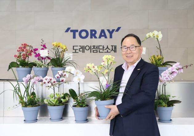 이영관 도레이첨단소재 회장, 화훼농가 돕기 릴레이 행렬 동참