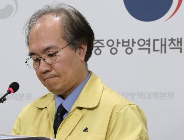 권준욱 중앙방역대책부본부장.(사진=연합뉴스)