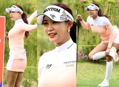 유현주, 필드 접수한 골프 여신