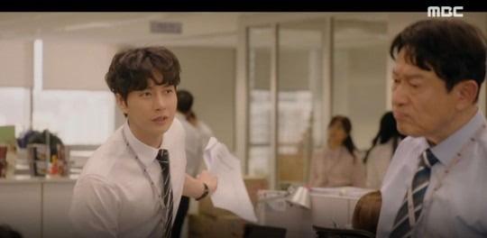 '꼰대인턴' 김응수 박해진 / 사진 = '꼰대인턴' 방송 캡처