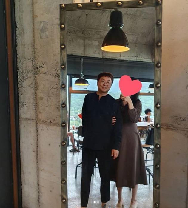 박휘순 여자친구 공개 /사진=인스타그램