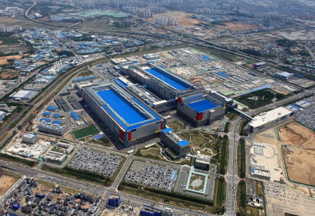 삼성전자 평택캠퍼스. 삼성전자는 21일 10조원을 투자해 EUV(극자외선) 파운드리 라인을 구축한다고 발표했다. 뉴스1