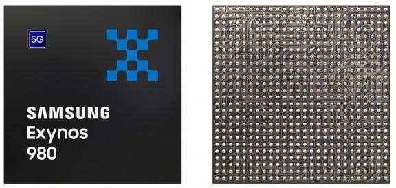 스마트폰용 반도체 삼성전자 엑시노스 980. 삼성전자