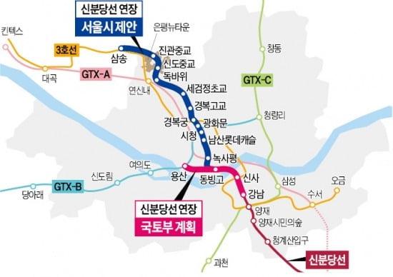 미군에 발목 잡힌 신분당선…'강남~용산' 2027년 이후 개통