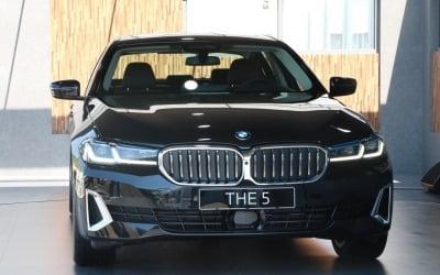 '최애' BMW 5시리즈 신형, '1등' 한국서 세계 첫 공개