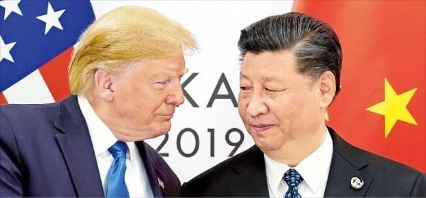 트럼프 미국 대통령(왼쪽)과 시진핑 중국 주석. 사진=한경DB