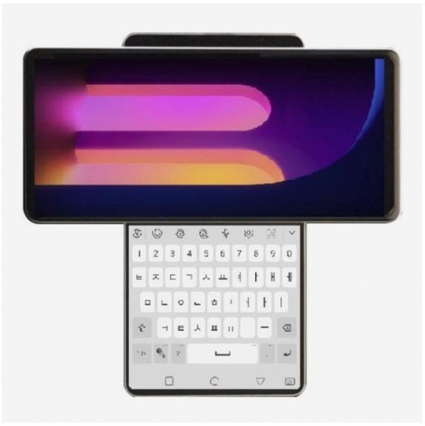 코드명 '윙'으로 지정된 LG 차세대 스마트폰 예상 렌더링 이미지/사진=폰아레나 캡처