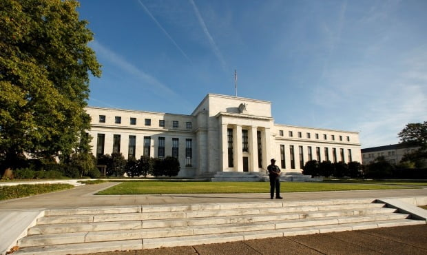 미국 워싱턴DC 소재 미 중앙은행(Fed) 본부 건물.사진=로이터