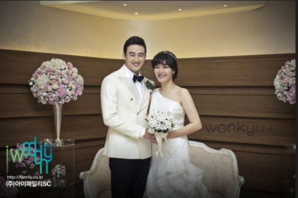 개그우먼 김미려와 배우 정성윤 결혼