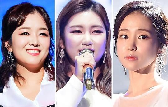 정미애, 송가인, 홍자 (사진=포켓돌스튜디오)